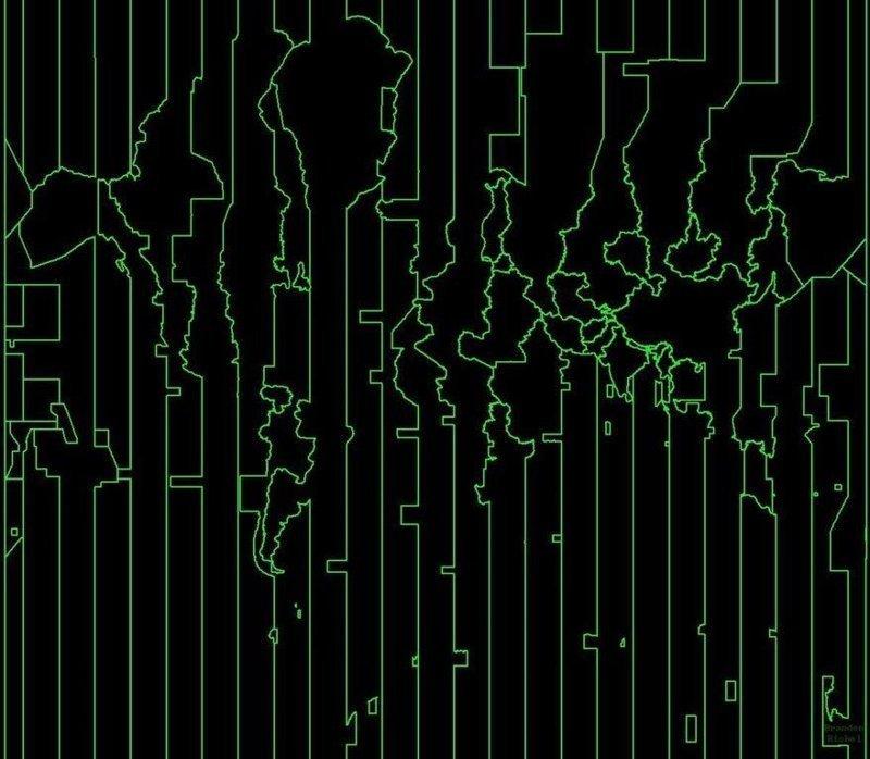 19. Карта мира по часовым поясам в мире, забавно, карта, карта мира, карты, креатив, подборка, фото