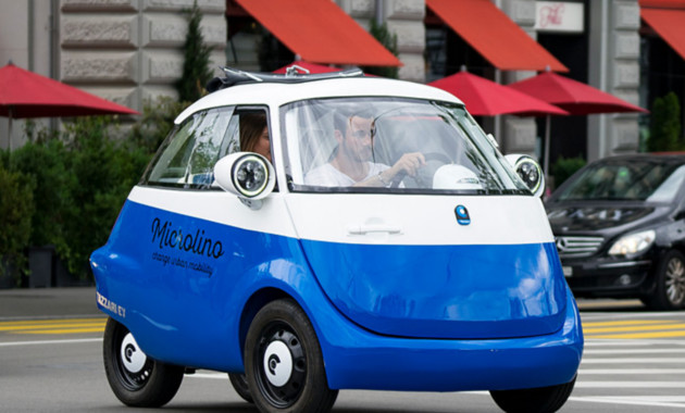 Электрический Microlino: воскрешение микрокара BMW Isetta