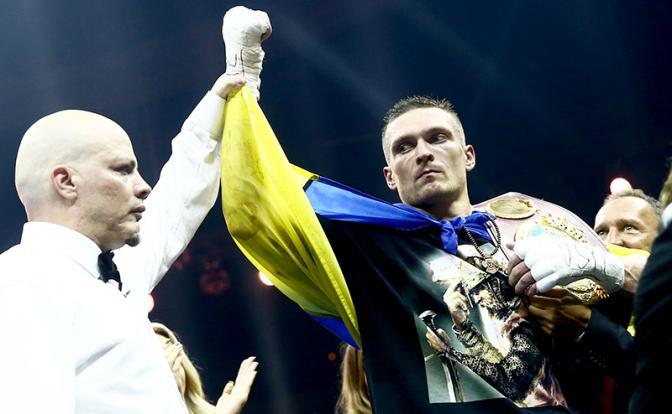 Боксер Александр Усик: «Умный» кулак круче «калаша»