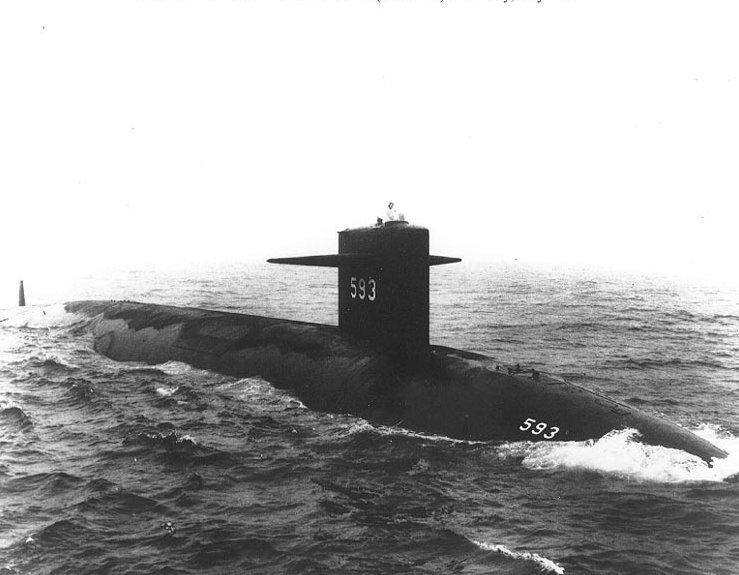 Трагедия на дне океана: хроника гибели подлодки «USS Thresher»