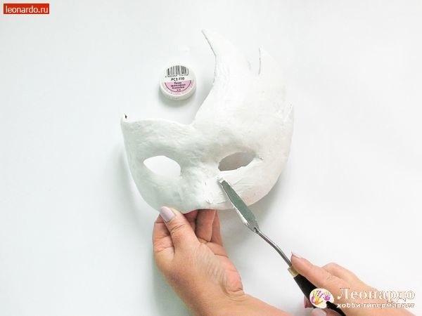 "Декупаж ""Венецианская маска"" декор,мастер-класс"
