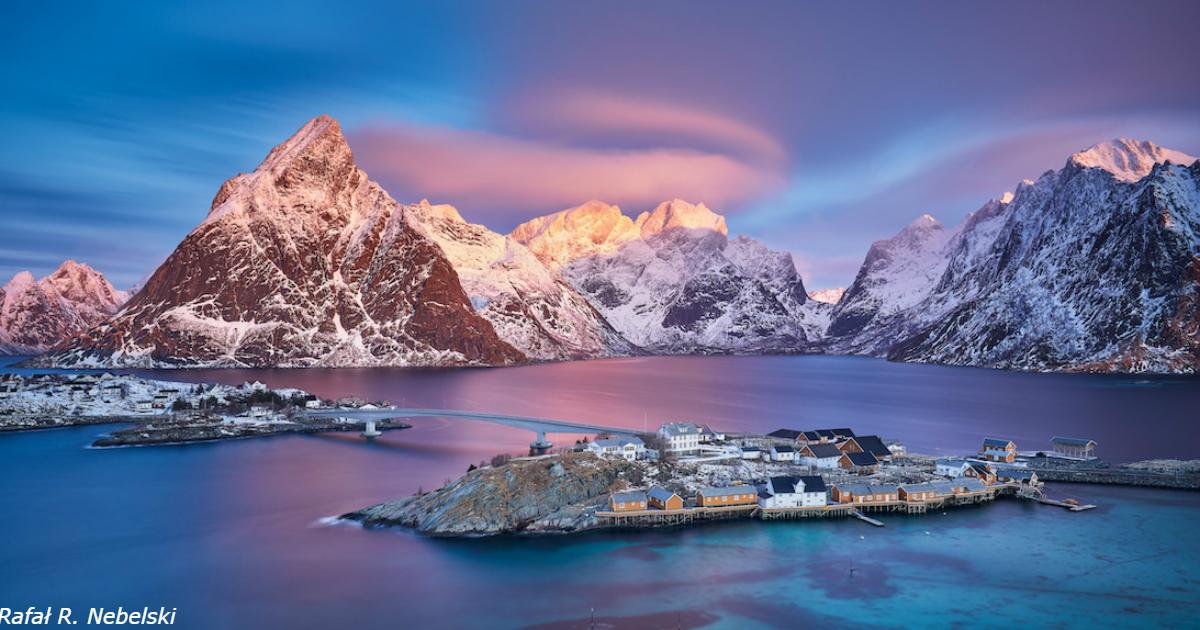19 пейзажей из Арктики - места, где всегда тихо, одиноко и божественно красиво