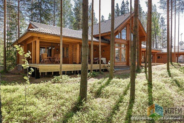Особенности интерьеров деревянных загородных домов