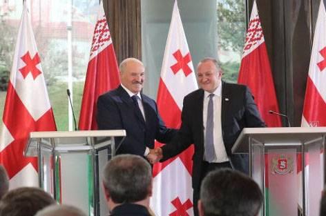 Что обсудил белорусский президент с грузинскими властями в Тбилиси?