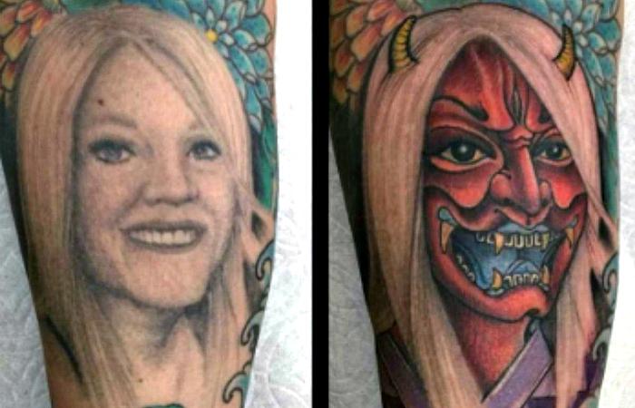 17 абсурдных, но очень смешных экспериментов с татуировками