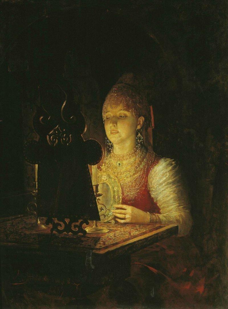 Болезни и не только Русы, зеркала, злые силы, обряды, приметы, русалки, суеверия