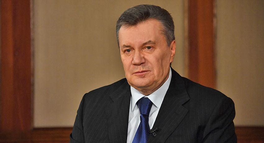 Виктор Янукович попал в боль…