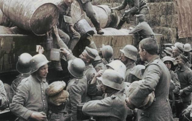 Первая Мировая Война: Хороший солдат - сытый солдат