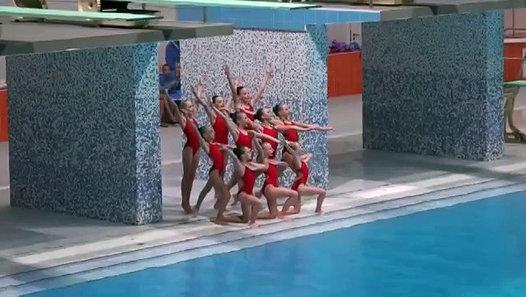 НАШ СПОРТИВНЫЙ КИНОЗАЛ. Танцы на воде