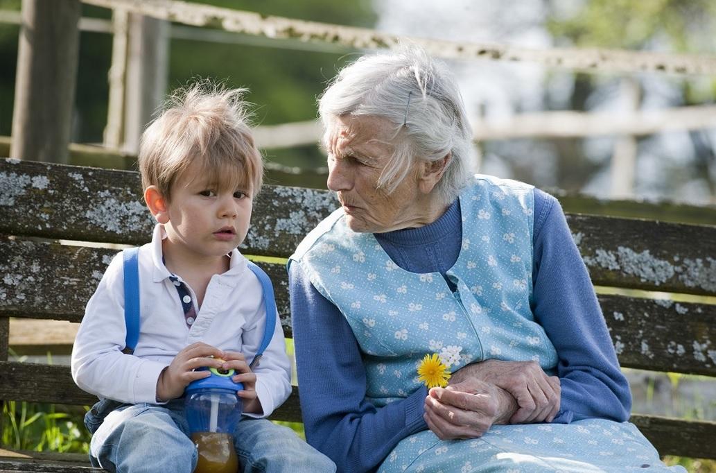 старик с внуком картинки модель