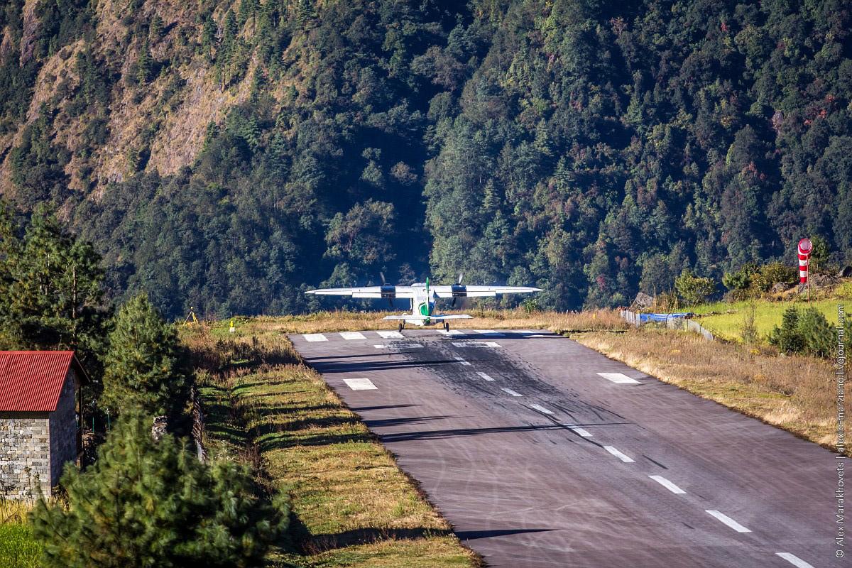 Экскурсия по самому опасному аэропорту мира