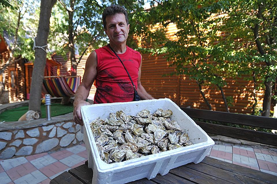Сергей Кулик воплотил в жизнь мою мечту: жить на море и выращивать устриц