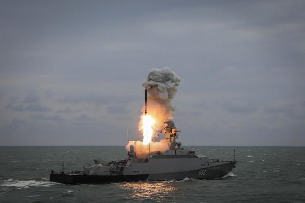 Российские ракетные корабли …
