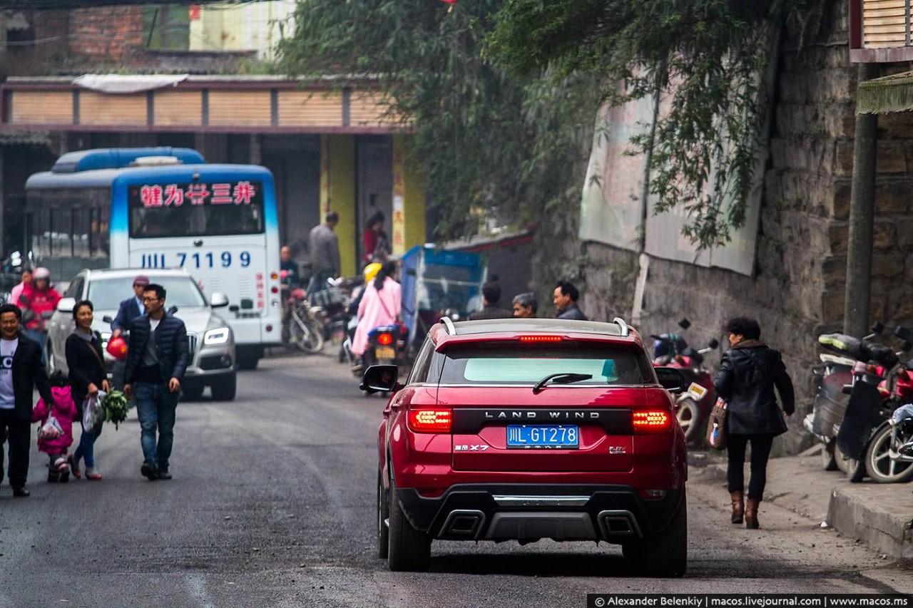 Машины-подделки на дорогах Китая или Зачем заморачиваться с дизайном