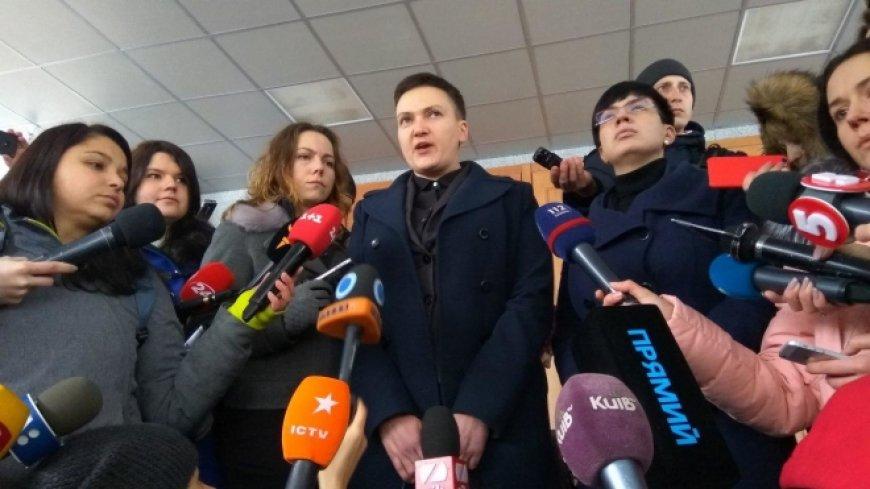 Савченко пришла с гранатами …