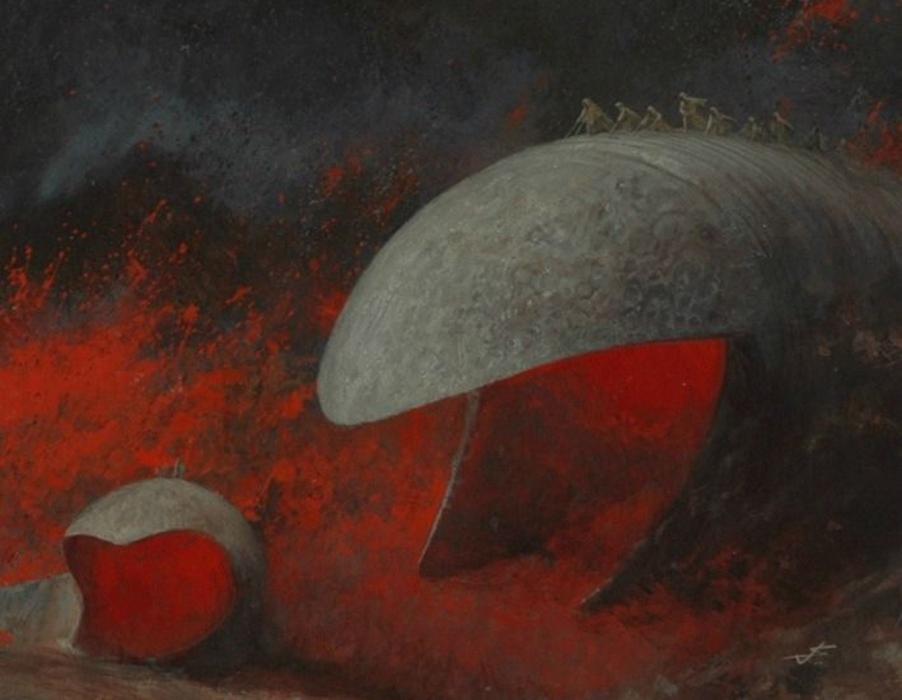 Иллюстрации к«Дюне», которы…