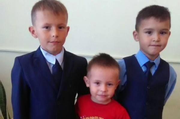 Четыре брата и одна сестра ищут родителей