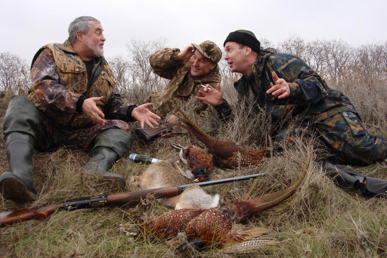 Охотники прикольные картинки, привет как дела