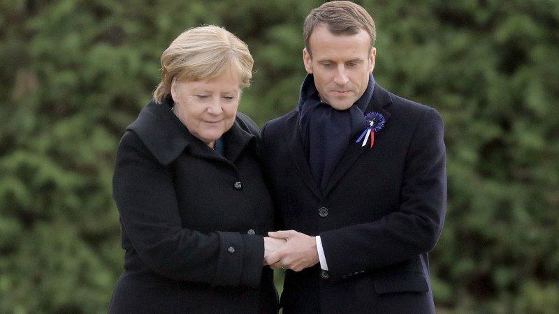 Макрон и Меркель высказались по поводу прошедших выборов в ЛДНР