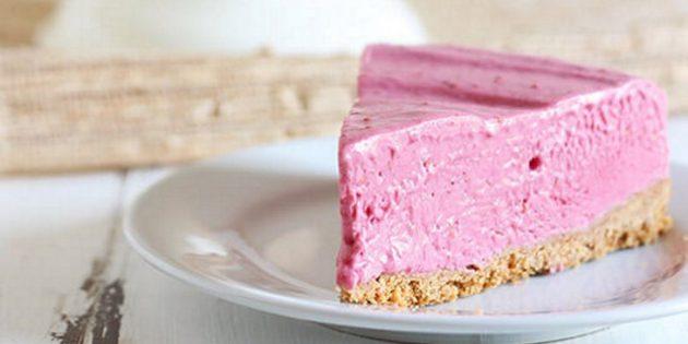 Рецепты пирогов с малиной: Малиновый чизкейк