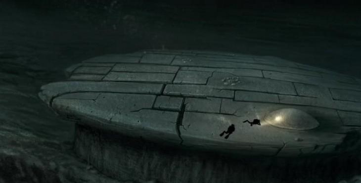 Странный объект, найденный в Балтийском море