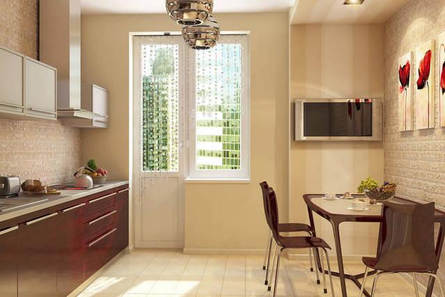дизайн кухни в современном доме фото