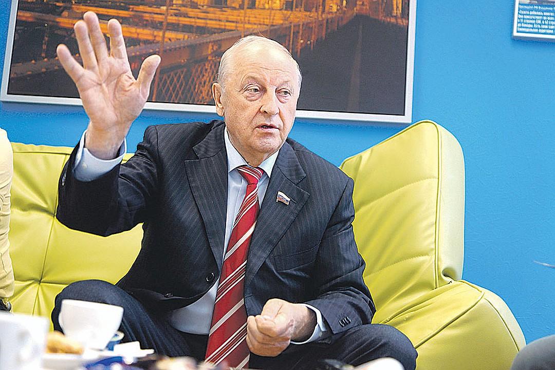 Эдуард Россель. Фото: Алексей БУЛАТОВ