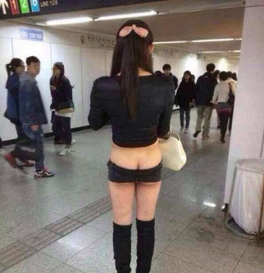 Мего короткие шорты и китайс…