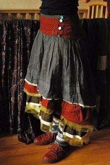 Юбки бохо для полных женщин своими руками - выкройки женские хобби