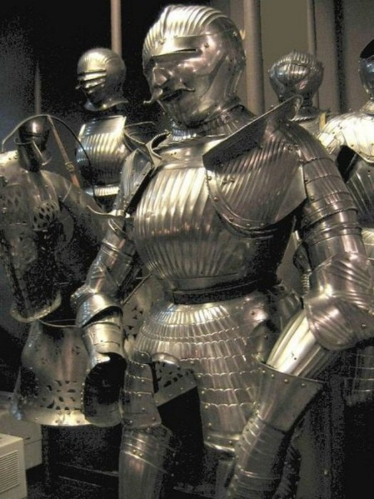Броня Императора Максимилиана I доспехи, рыцари, средневековье