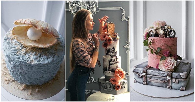 Не торт, а произведение искусства: такие сладости даже жалко есть
