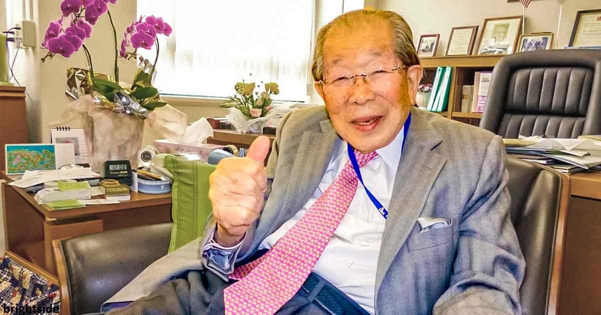 105-летний ÑпонÑкий врач раÑÑказал, что у долголеÑ'Ð¸Ñ ÐµÑÑ'ÑŒ 5 причин