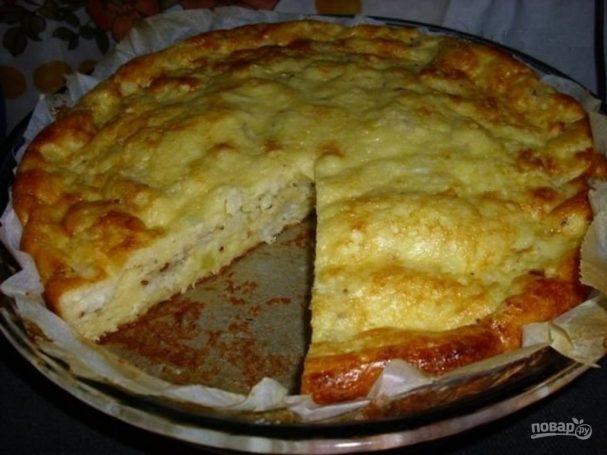 Рыбный пирог с тунцом