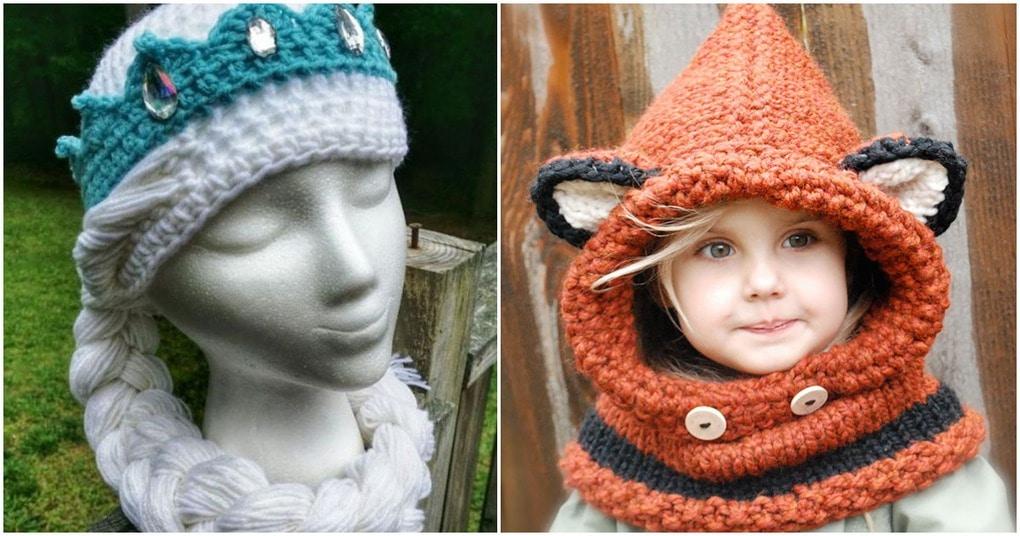 Крутые вязаные шапки, чтобы выделиться из толпы этой зимой