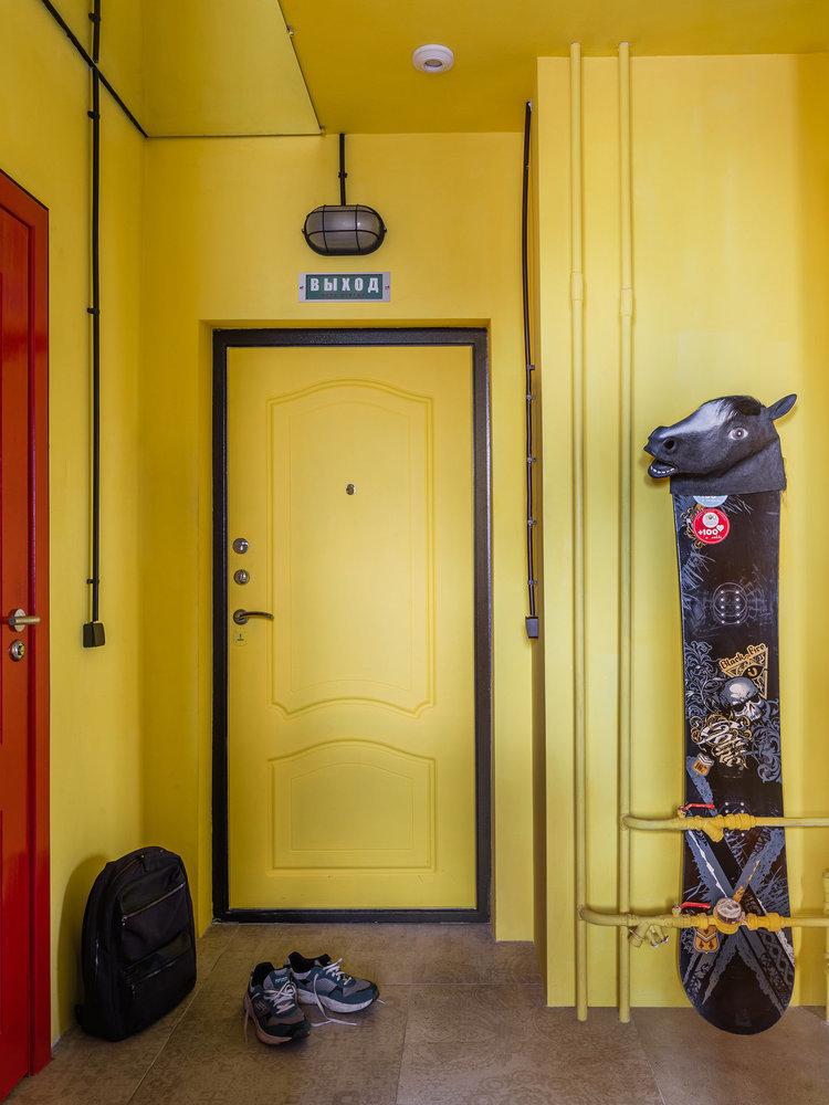 18 необычных входных дверей, которые стали фишкой прихожей идеи для дома,интерьер и дизайн
