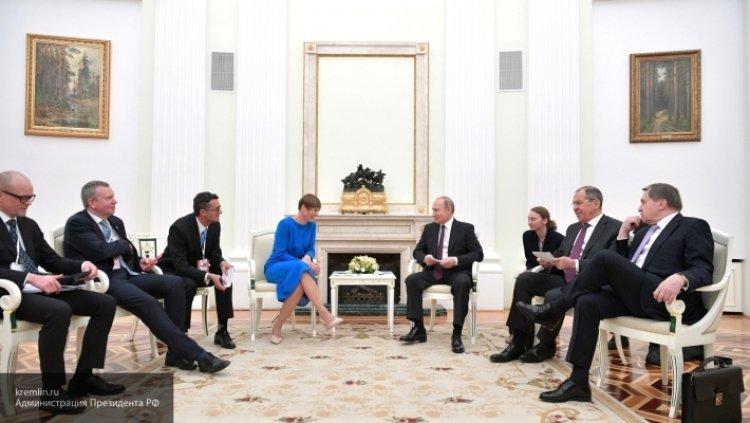 22 апреля 2019 - Обаяние Путина помогло столкнуть отношения РФ и Эстонии с «мертвой точки»..