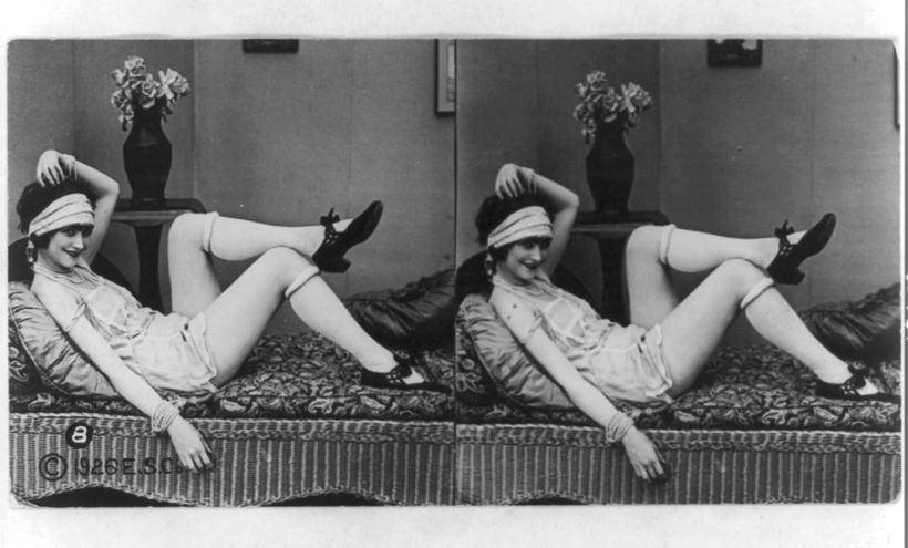 Старинный соблазн: какими были эротические фотографии в 20-х годах прошлого века
