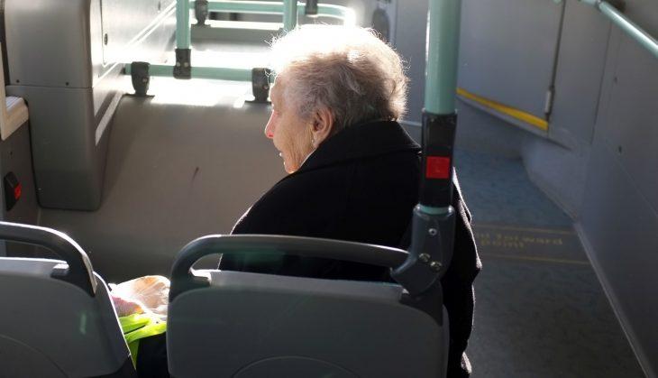 Бабка и полицейский