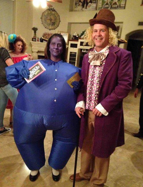 Эти пары придумали себе самые крутые костюмы на Хэллоуин хэллоуин