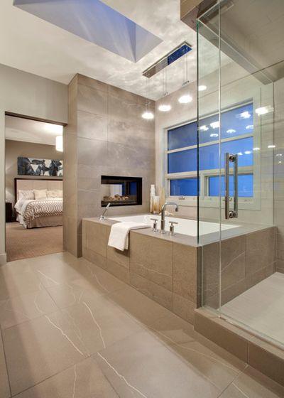 Современный Ванная комната by DEKORA Staging Inc
