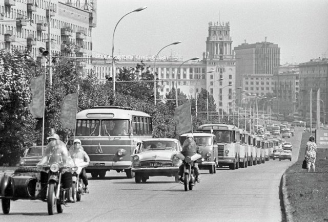 Атмосфера 70-х годов прошлого века СССР, история, факты