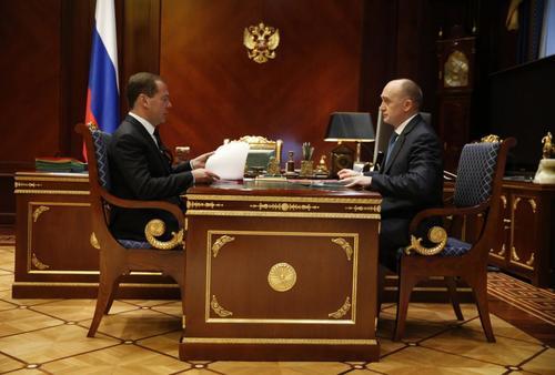 Борис Дубровский рассказал Дмитрию Медведеву о подготовке к саммитам
