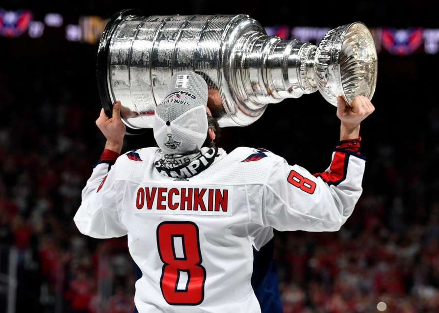 Овечкин выиграл Кубок Стэнли…