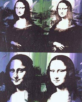 Мона Лиза глазами дадаистов и поп-артистов