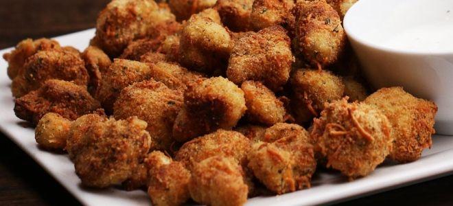 Цветная капуста в кляре с хрустящей корочкой - блюдо, которое заменит мясо на обед! закуски,овощные блюда,рецепты