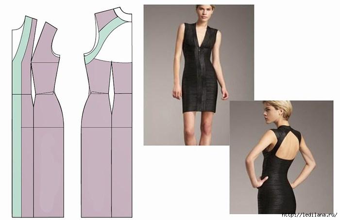 Элегантное и одновременно сексуальное платье