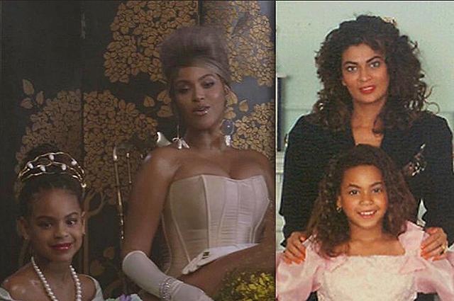 Как две капли воды: фанаты Бейонсе показали сходство певицы с дочерью Блу Айви на фото