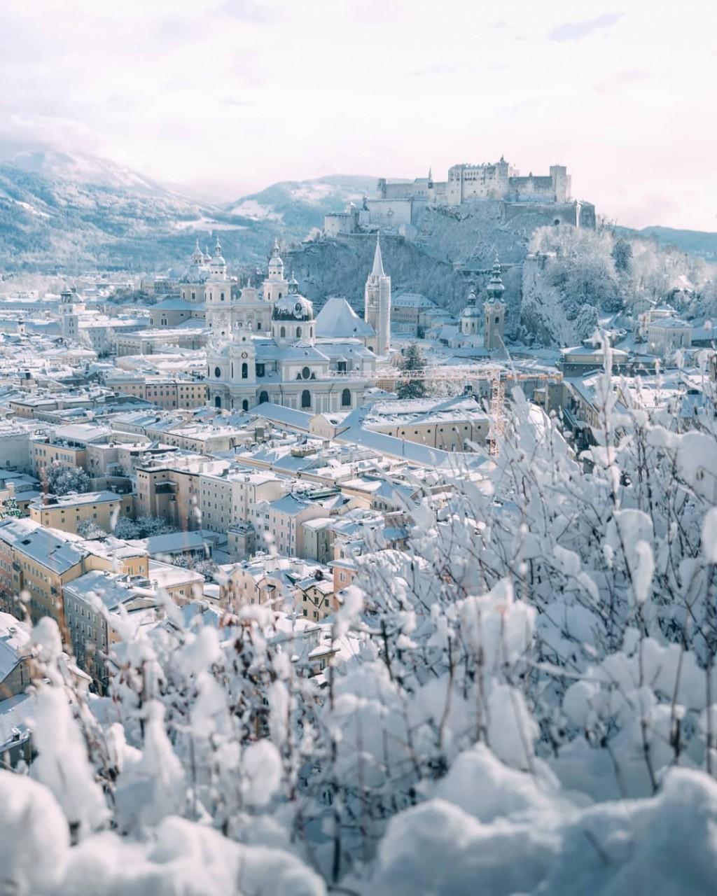 Зимняя Австрия на снимках Себастьяна Шейхла