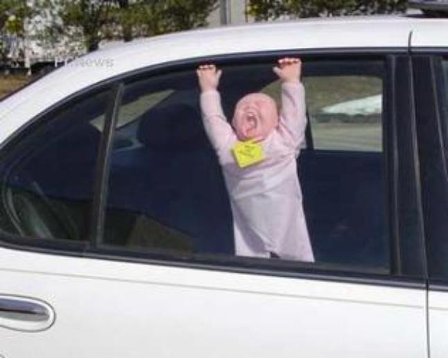 Как же научиться сдерживать эмоции и не забывать что с тобой в машине ребенок? авто и мото