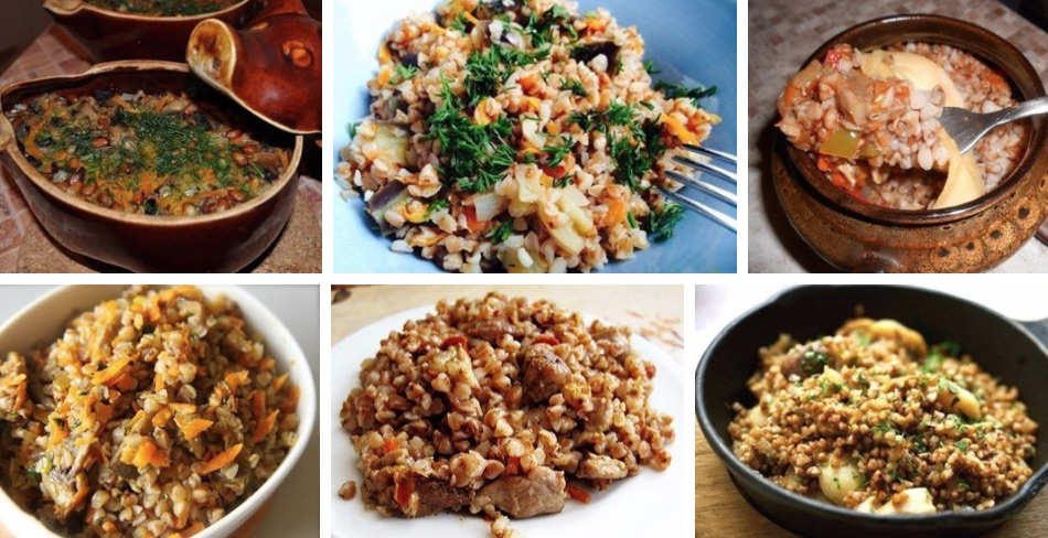 6 Вкусных блюд с гречкой